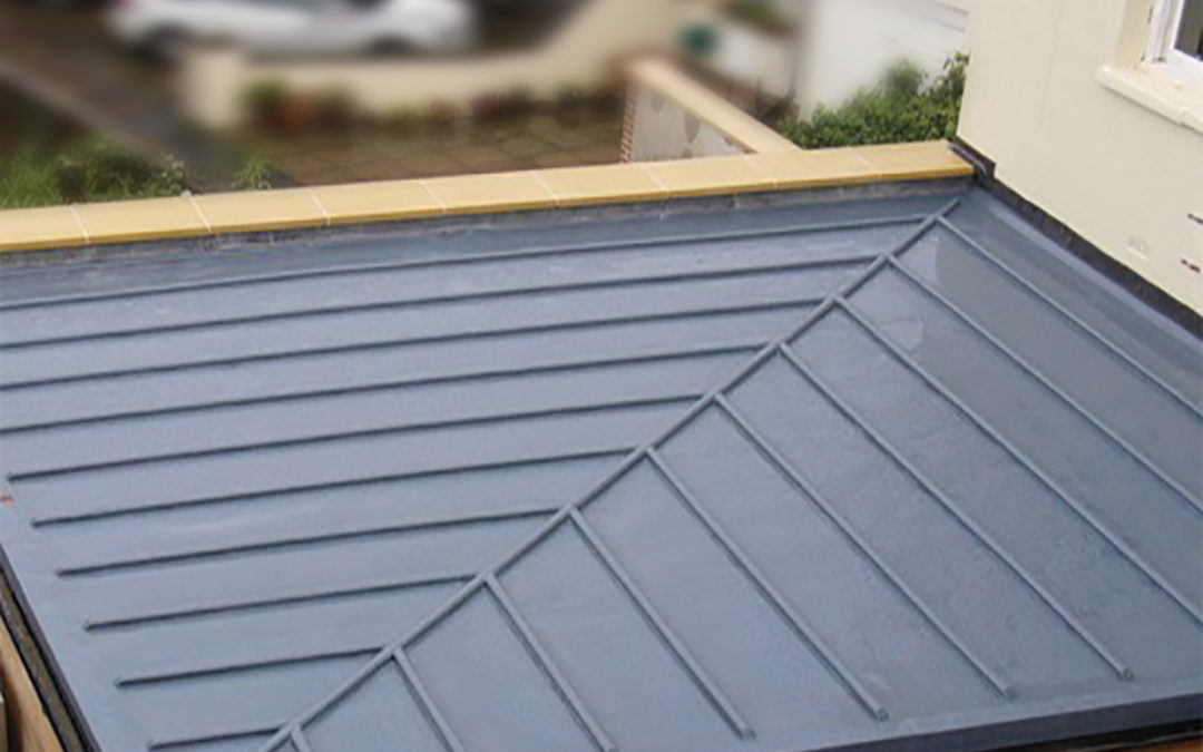 Fibreglass GRP roof kit