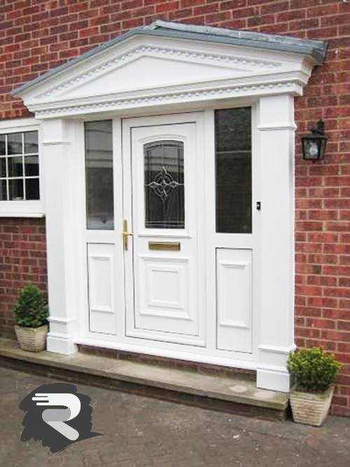 victorian portico door surround