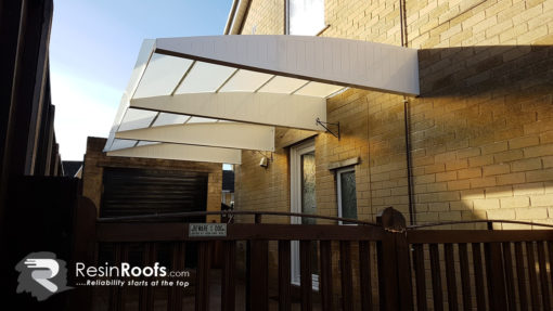 Carport Cantilever Fixed to Wall
