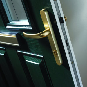 Composite door detail