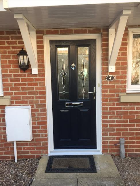 Black composite doors are the most popular from our range in Hull