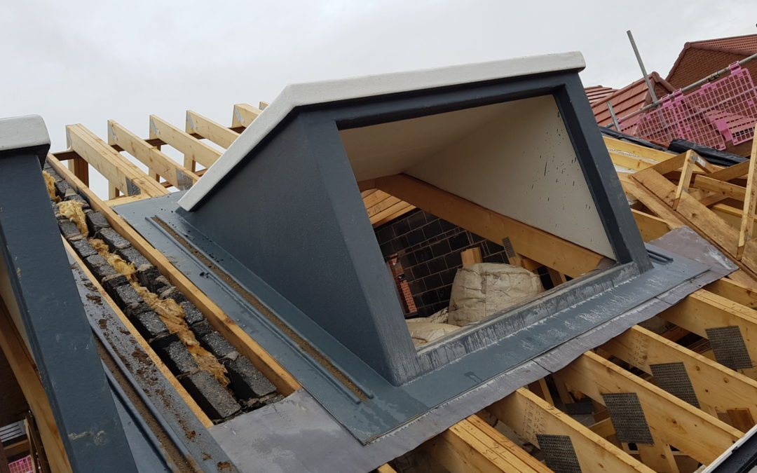 Resin Roofs GRP Window Dormer Defies Convention with Double Roof Insulation